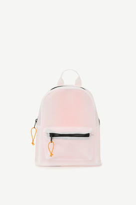 Ardene Mini Mesh Neon Backpack