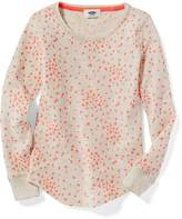 Old Navy Thermal Scoop-Neck Tee for Girls