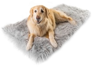 Paw Brands PupRug Runner Faux Fur Memory Foam Bed