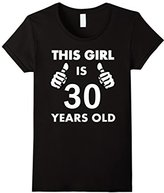 Men's This Girl Is 30 Years Old T-Shirt Small