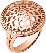 Links of London Timeless 18ct rose-gold vermeil domed ring