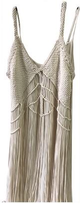 Denim & Supply Ralph Lauren Beige Cotton Dress for Women