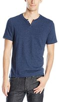 Kenneth Cole Reaction Men's Ss Textured Henly