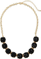 Fragments for Neiman Marcus Mini Statement Crystal Necklace, Black