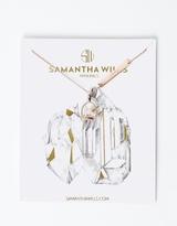 Samantha Wills Clear Quartz Mineral Necklace