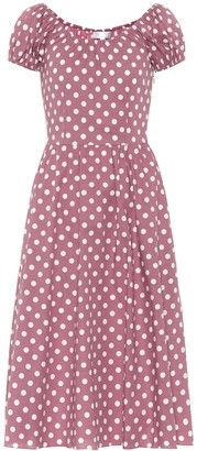 Caroline Constas Mariette polka-dot dress