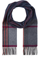 Colombo WOMEN'S PLAID CASHMERE FLANNEL SCARF