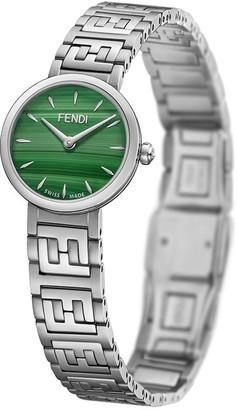 Fendi Forever FF motif watch
