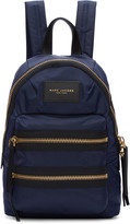 Marc Jacobs Navy Mini Biker Backpack