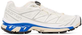 Salomon White Limited Edition Softground XT-6 ADV Sneakers