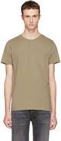 A.P.C. Taupe Keanu T-shirt