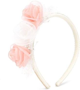 Lula Abel & Organza Flowers headband