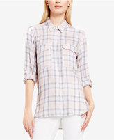 Vince Camuto TWO by Plaid Utility Shirt