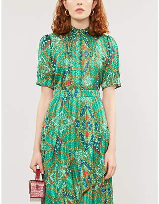 BA&SH Hippy floral-print crepe blouse