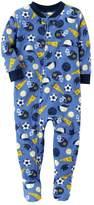 Carter's Baby Boy Sports Fleece Footed Pajamas