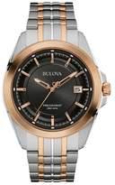 Bulova Bi Colour 'precisionist' Multi Link Watch 98b268