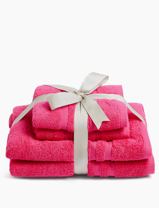 Marks and Spencer 4 Piece Super Soft Pure Cotton Towel Bale