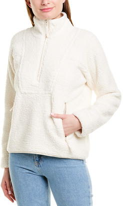 Vince Sherpa 1/2-Zip Pullover