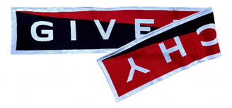Givenchy Red Cotton Scarves & pocket squares