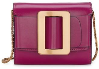 Boyy Buckle Leather Wallet-On-Chain