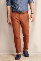 Lands' End Men's Comer 628 Straight Fit Chino Pants