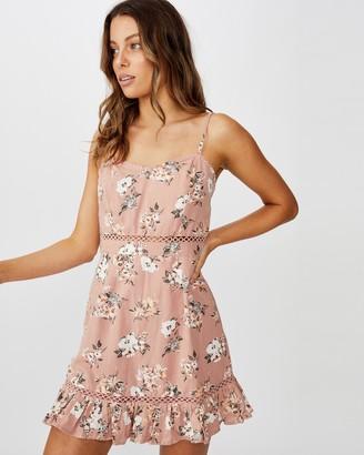 Cotton On Woven Serene Strappy Mini Dress