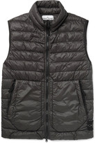 Stone Island - Quilted Garment-dyed Shell Down Gilet
