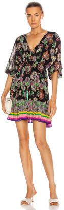 Alexis Holli Dress in Midnight Bloom   FWRD