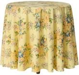 April Cornell Yellow Blanche Tablecloth