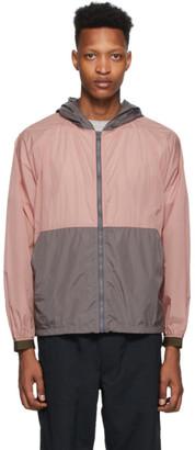 Nanamica Pink and Grey Packable Cruiser Jacket
