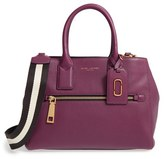 Marc Jacobs Gotham Leather Tote - Burgundy