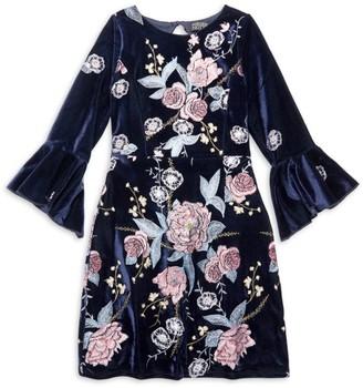 Girl's Willow Bell-Sleeve Dress
