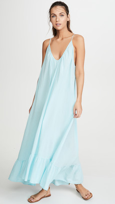 9seed Paloma Ruffle Maxi Dress