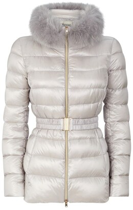 Herno Claudia Fur Trim Padded Jacket