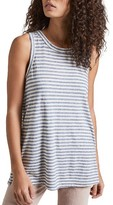 Current/Elliott Women's The Muscle Stripe Tee