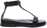 Ann Demeulemeester Leather Flat Sandals