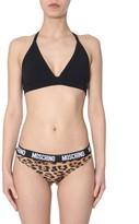 Moschino Leopard Print Slip