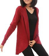 TRURENDI Women Long Sleeve Knitted Cardigan Long Jacket Outwear Casual Loose Sweater