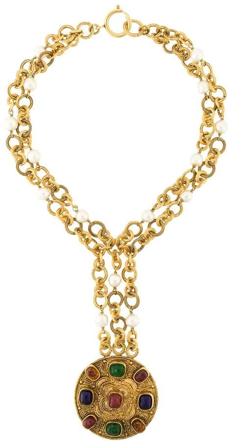 Chanel Pre-Owned 1984 byzantine necklace