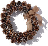 L.L. Bean Oval Pinecone Wreath