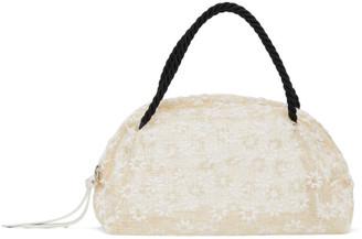Maryam Nassir Zadeh Off-White Floral Sun Bag