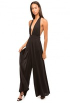 Milly Stretch Silk Sarong Jumpsuit