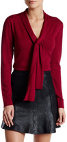 Susina Knotted Front Pullover Sweater (Petite)