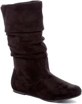 Wild Diva Black Kalisa Slouch Boot