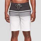 "Men's 10"" Striped Board Shorts - Goodfellow & CoTM /White"