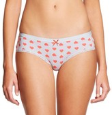 Xhilaration Women's Cotton with Lace Hipster