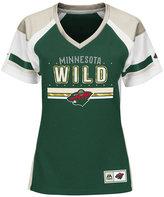Majestic Women's Minnesota Wild Ready to Win Shimmer Jersey