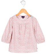 Paul Smith Girls' Long Sleeve Floral Print Top