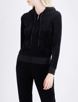 Juicy Couture Robertson Gothic Crystal velour hoody