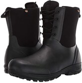 Bogs Sauvie Snow (Black) Men's Shoes